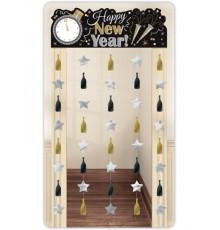 Décoration de porte Happy New Year