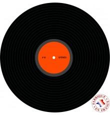 Décoration disco disque vinyle 30 cm