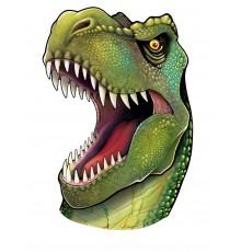Décoration murale tête de dinosaure 86 cm