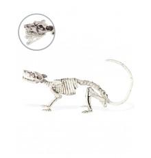 Décoration squelette rat 16 x 23 cm Halloween