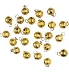Décorations grelots dorés Noël