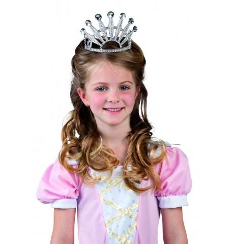 Diadème princesse en plastique enfant