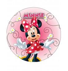 Disque en azyme Minnie modèle aléatoire 20 cm