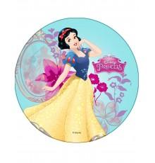 Disque en azyme Princesses Disney Blanche Neige 21 cm