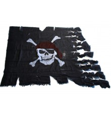 Drapeau pirate authentique