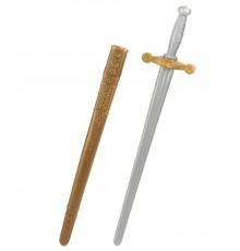 Epée chevalier médiéval en plastique