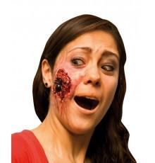 Fausse blessure araignée adulte Halloween