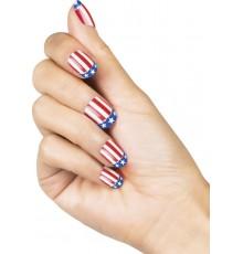 Faux ongles adhésifs USA femme