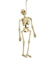 Faux squelette pendu 40 cm Halloween