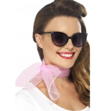 Foulard rose femme