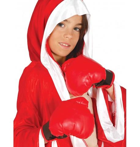 Gants de boxe rouge enfant