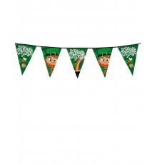 Guirlande à fanions 8 m Saint Patrick