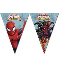 Guirlande à fanions Spiderman 2.60 m