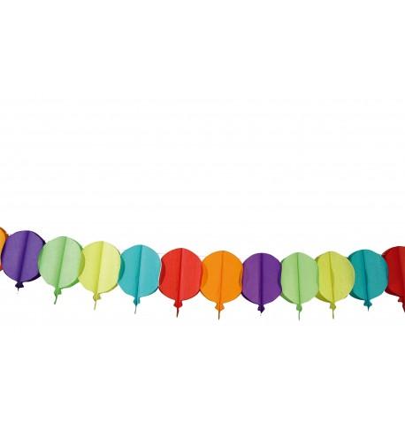 Guirlande ballons en papier 4 m