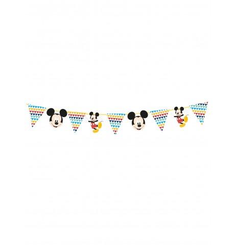 Guirlande en papier premium Mickey 100 x 18 cm