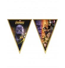 Guirlande fanions Avengers Infinity War 230 X 25 cm