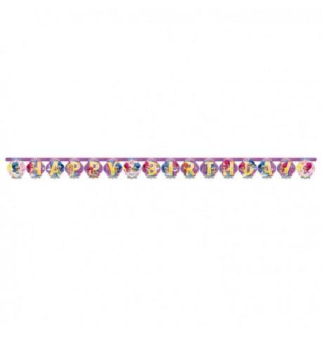 Guirlande Happy Birthday Shimmer & Shine200X15cm