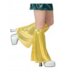 Jambières disco dorées