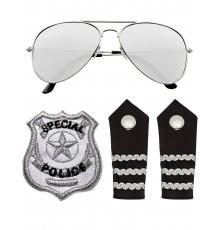 Kit accessoires policier adulte