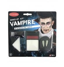 Kit maquillage complet vampire adulte halloween