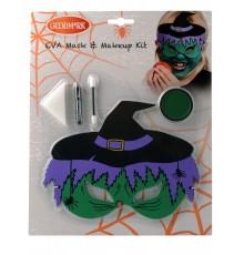 Kit maquillage et masque sorcière