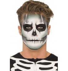 Kit maquillage squelette phosphorescent adulte Halloween