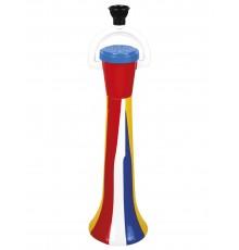 Klaxon clown multicolore 40 cm