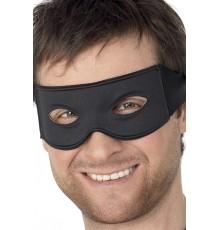 Loup noir justicier masqué adulte
