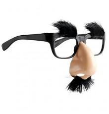 Lunette nez et moustache