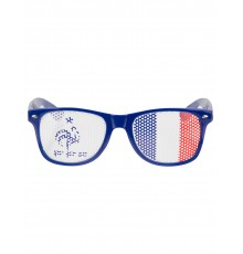 Lunettes bleues France FFF