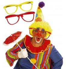 Lunettes de clown géantes adulte
