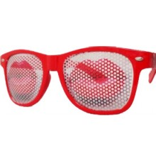Lunettes Party Red Lips