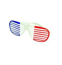 Lunettes rayées tricolores France