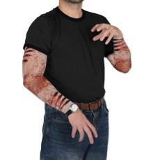 Manches fausses blessures zombie
