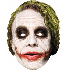 Masque carton Joker Dark Knight