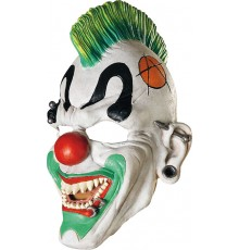 Masque clown punk adulte
