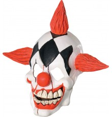 Masque clown rigoleur adulte