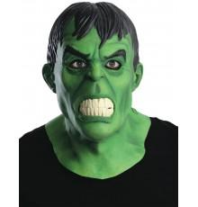 Masque en latex deluxe Hulk adulte