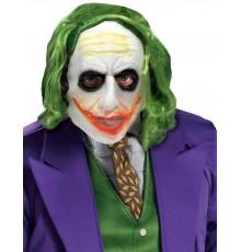 Masque Joker avec cheveux adulte