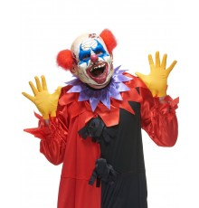 Masque latex clown des ténébres adulte