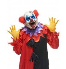 Masque latex clown des ténébres adulte