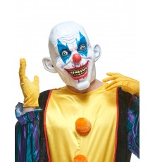 Masque latex clown diabolique adulte