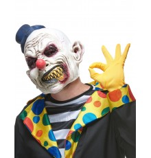 Masque latex clown hideux adulte