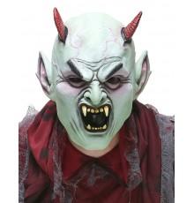 Masque latex diable en colère adulte