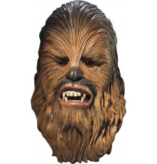 Masque latex luxe Chewbacca Star wars adulte