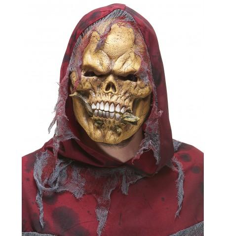Masque latex squelette mangeur de reptiles adulte