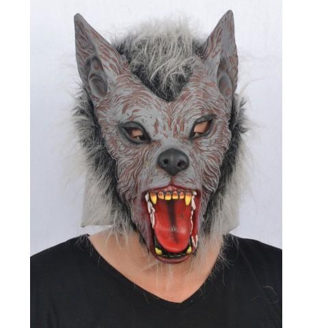 Masque loup garou adulte en latex