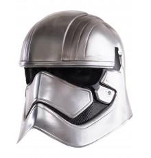 Masque luxe casque 2 pièces Captain Phasma Star Wars VII adulte
