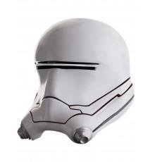 Masque luxe casque 2 pièces Flametrooper Star Wars VII adulte