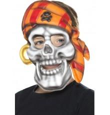 Masque pirate bandana coloré enfant